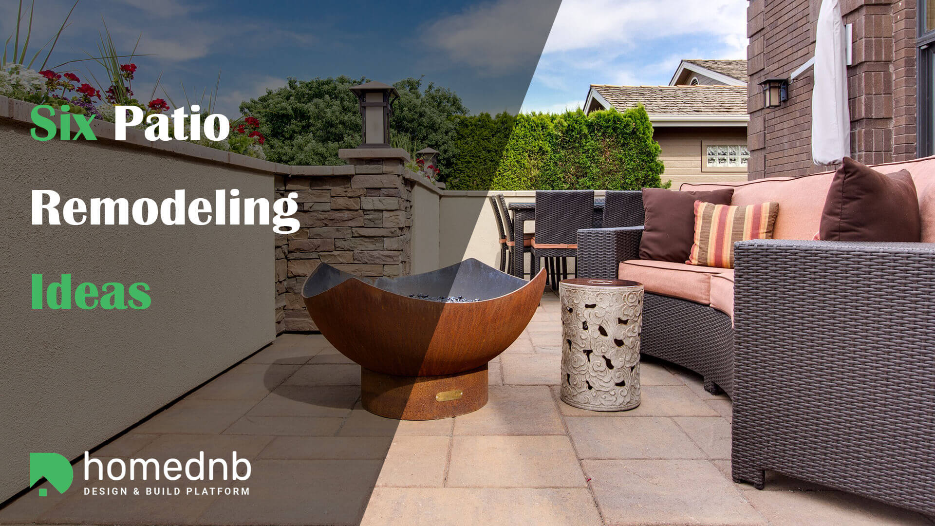 Six Patio Remodeling Ideas