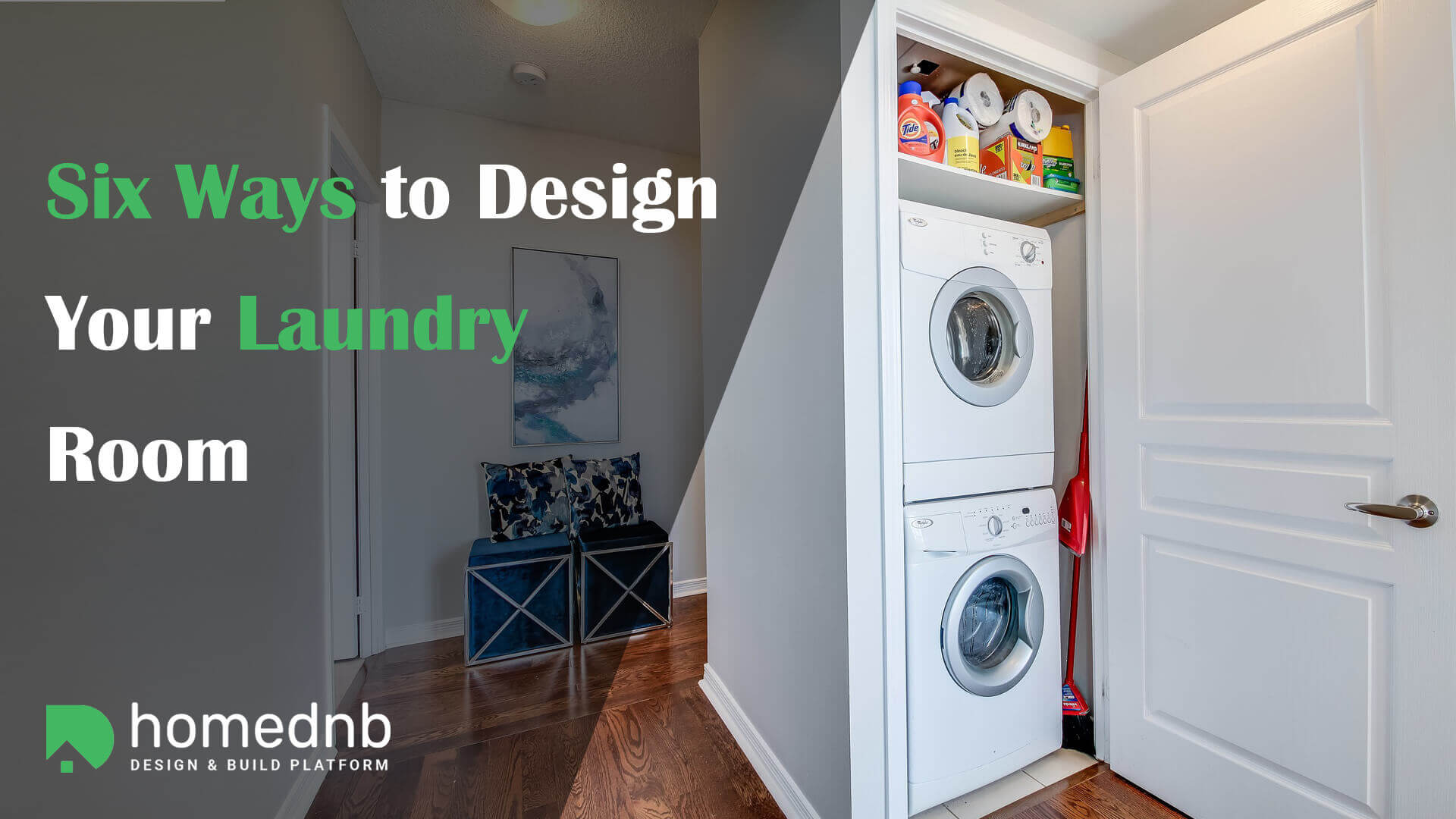 Six Ways to Design Your Laundry Room