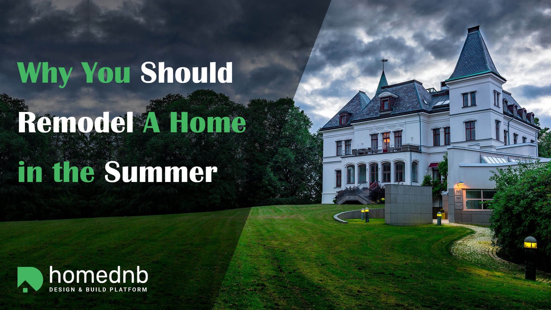 Why You Should Remodel A Home in the Summer