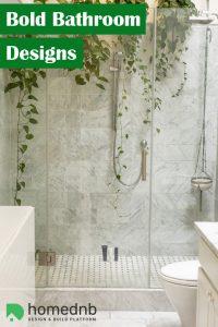 Bold Bathroom Designs