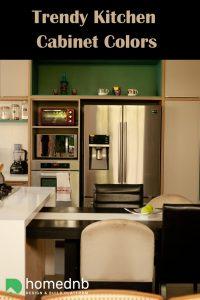 Trendy Kitchen Cabinet Colors