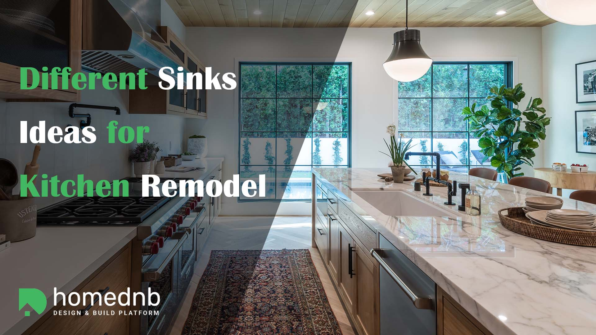 Different Sinks Ideas for Kitchen Remodel