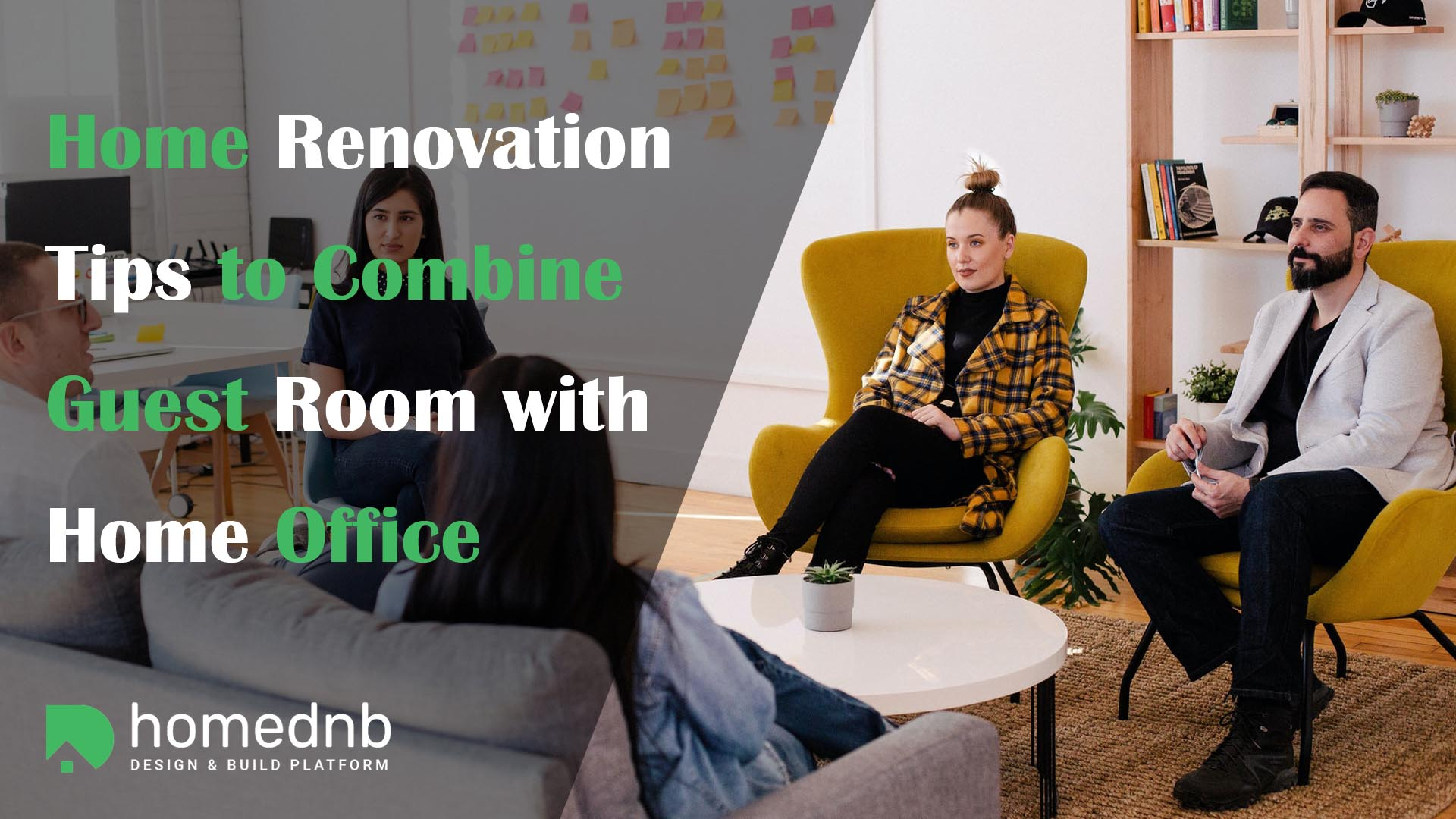 Home Renovation Tips to Combine Guest Room with Home Office